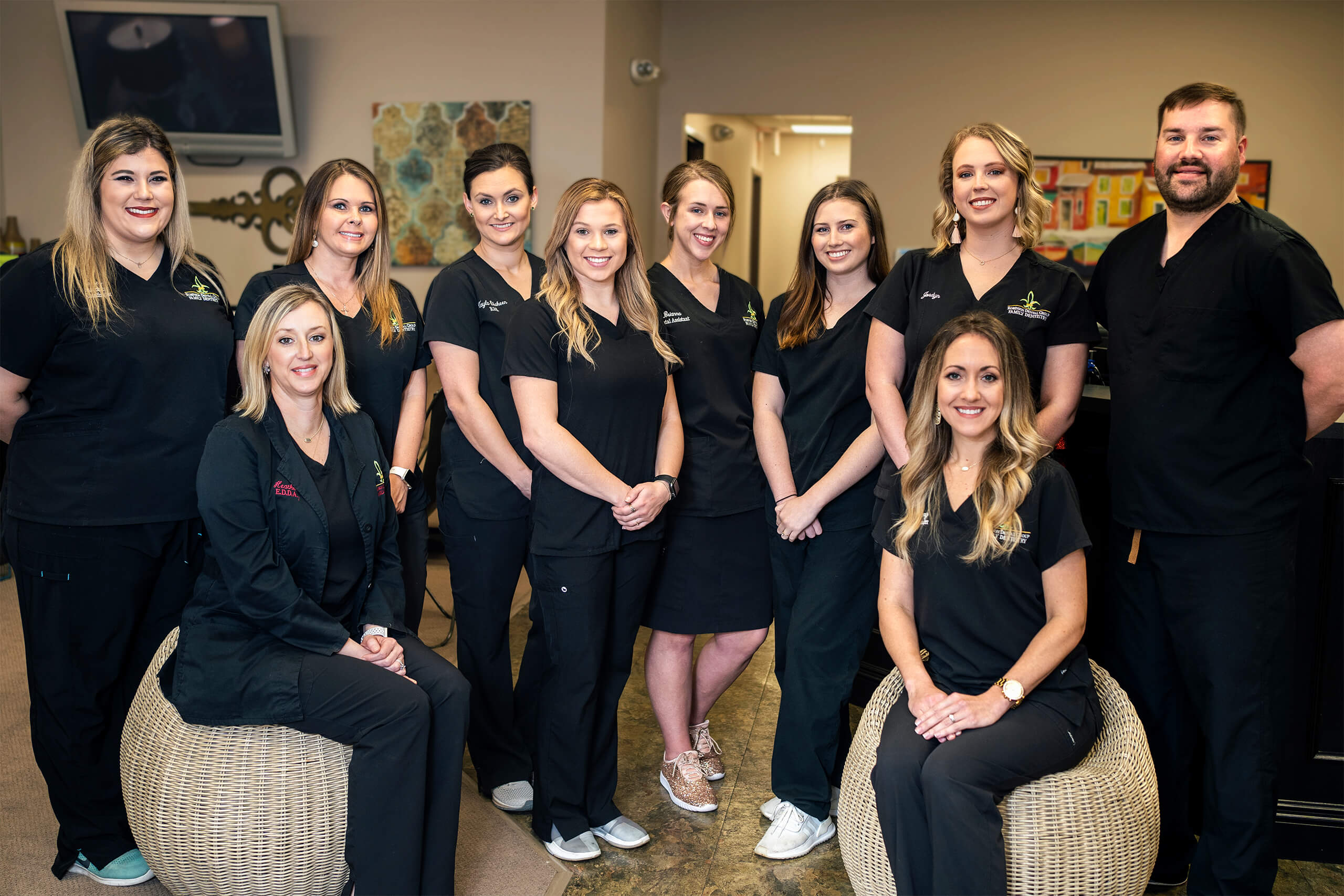 Moss Bluff Office Team Image